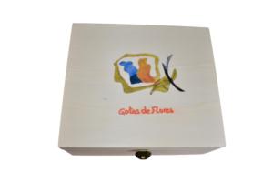 kit de Flores de Bach con caja de madera www.esenciasdebach.com