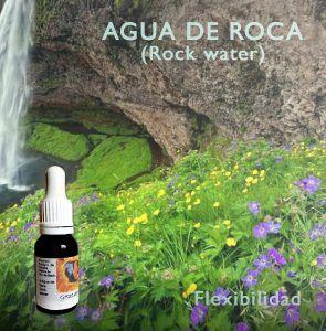 Flores de Bach: Agua de Roca (Rock Water) - Flexibilidad